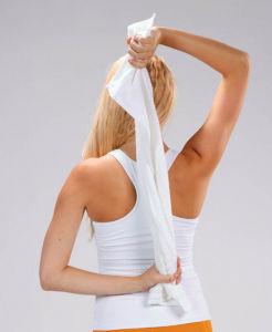 二の腕 細くする 方法 タオル 1枚 出来る エクササイズ